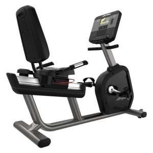 Life Fitness Club Series+ Recumbent Lifecycle Exercise Bike