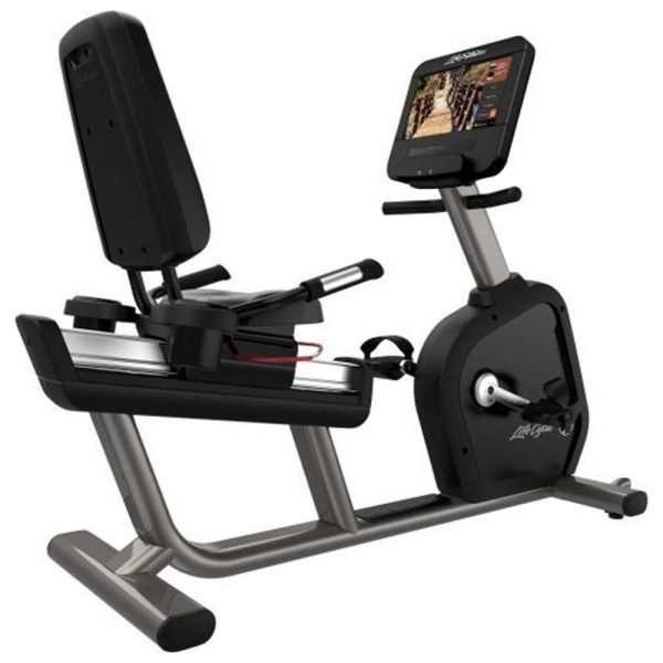Life Fitness Integrity Series Recumbent Bike WIFI