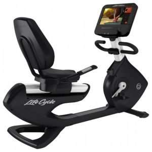 Life Fitness Platinum Club Lifecycle Recumbent Bike